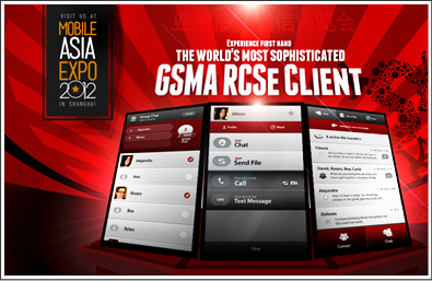 GSMA RCSe Client - Mobile Asia Expo