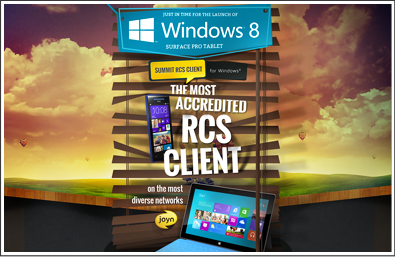 joyn RCS Client - Windows 8